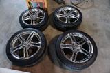 (4) Chevy Corvette Tires & Rims