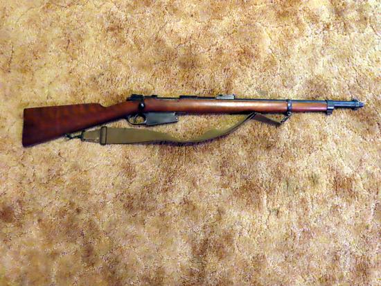 Fabrique Nationale Herstal-Liege Bolt Action Rifle