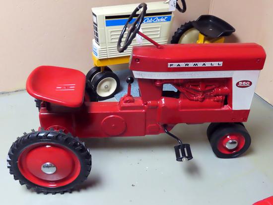 McCormick Farmall Pedal Tractor
