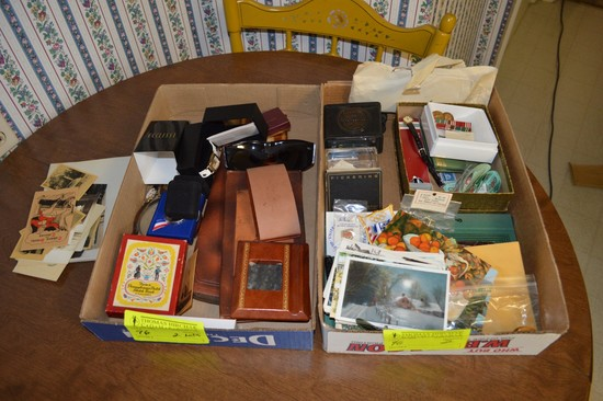 Lot: (2) Boxes Personal Accessories