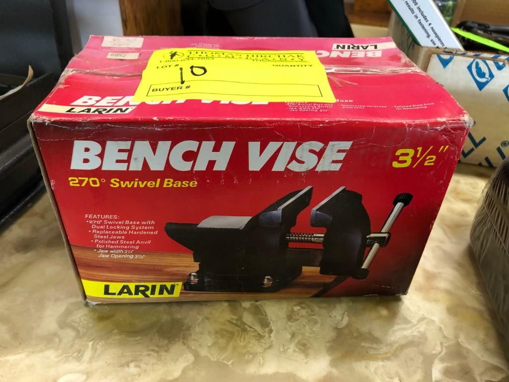 """Larin 3.5"""" Bench Vise"""