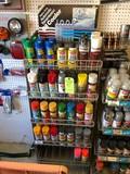 Asst. Spray Paint & Wire Dryer w/ Display