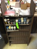 (15) Cans Spray Paint w/ Steel Display