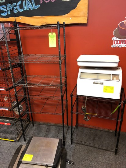 (3) Wire Shelf Units
