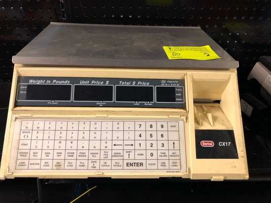 Berkley Digital Scale