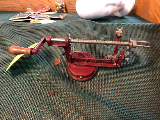 Peel-Away Apple Peeler