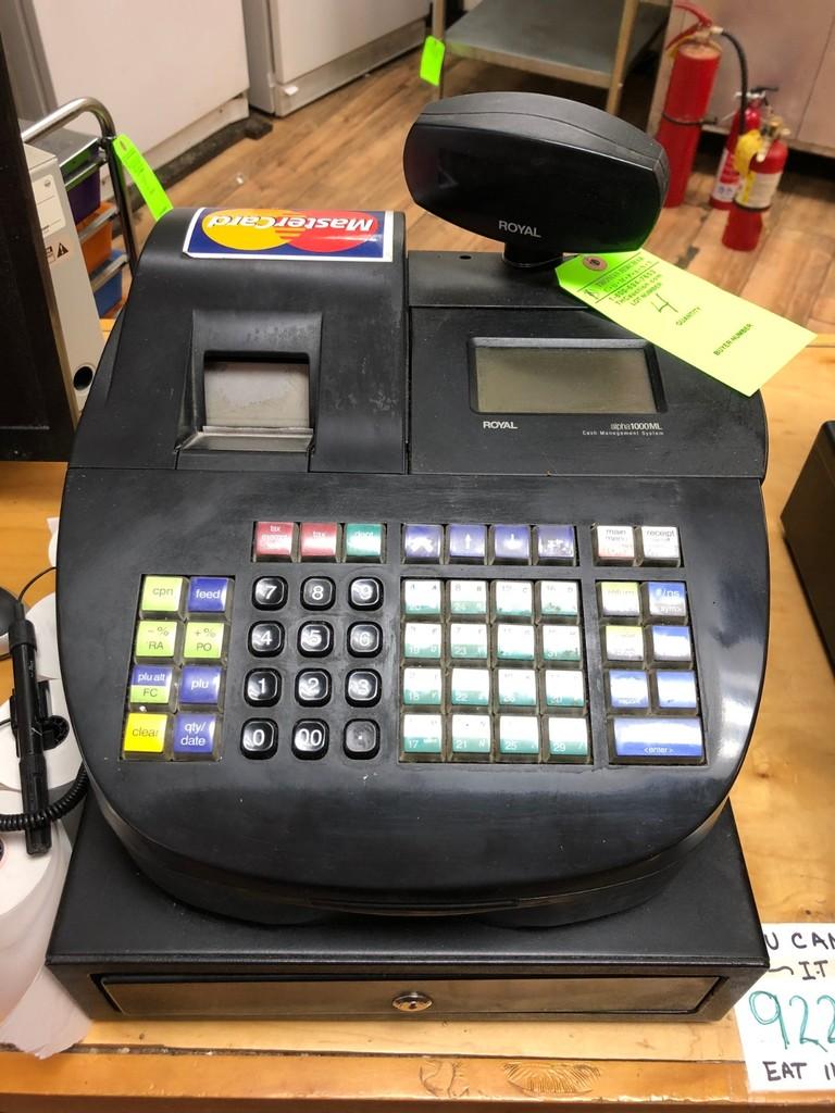 Royal Alpha 1000ML Cash Management System