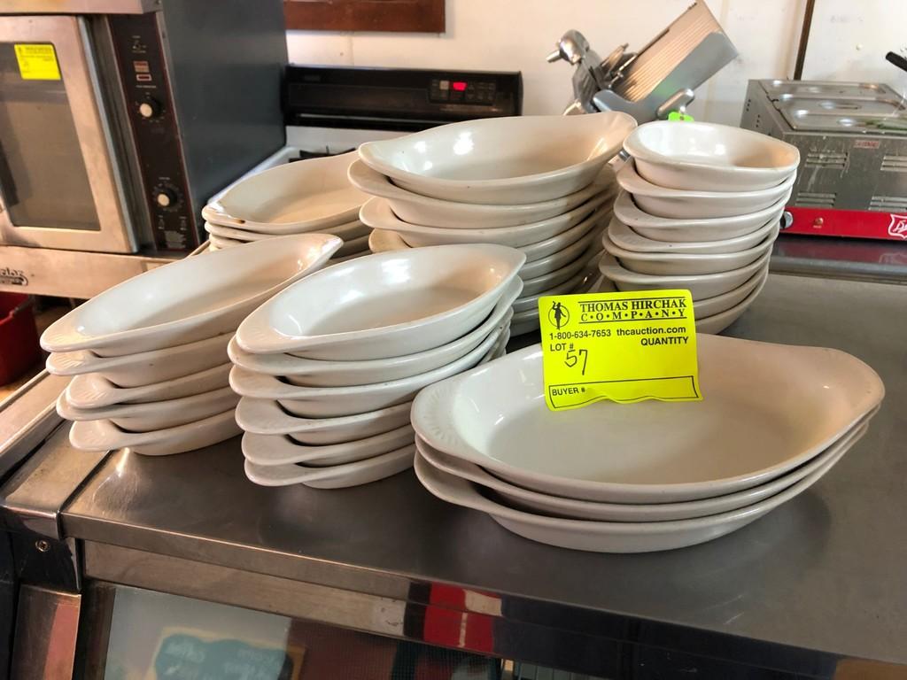 (36) Asst. Au Gratin Dishes