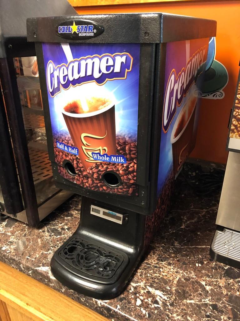Gold Star Creamer Dispenser