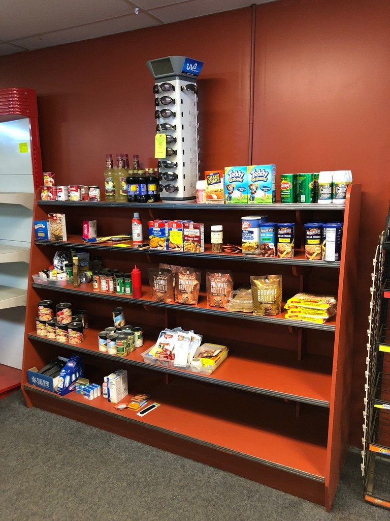 Asst. Food Products & Sunglass Display