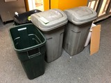 (5) Trash Receptacles