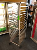 Win-Holt Roll Around Sheet Pan Rack
