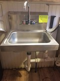 Advance Tabco SS Hand Sink