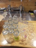 (13) Beer Mugs & (30) Shot/Cordial Glasses