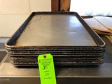 (10) Full Size Sheet Pans