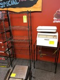 (3) Wire Shelf Units