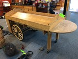 Oak Finish Barrow
