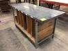 Welded Steel Strut Shipping / Work Bench