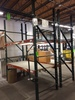 (2) Sections of Pallet Rack Shipping Stations
