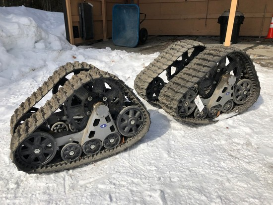 (4) Polaris UTV Tracks
