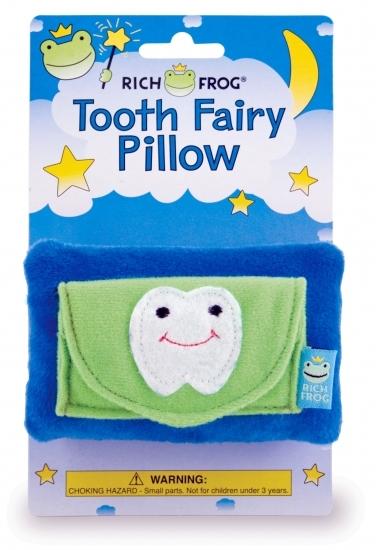 (30+/-) Rich Frog Asst. Tooth Fairy Pillows