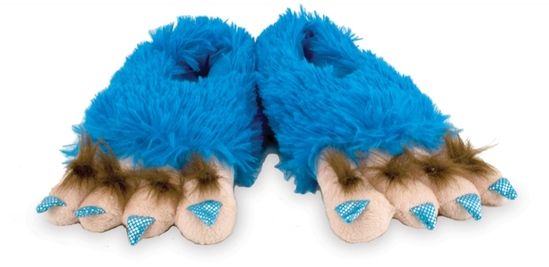 Case of (60)prs.Rich Frog Small Funky Feet Slippers-Creature Feet