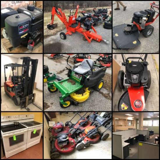 Outdoor Power Equipment, Industrial & Office FF&E
