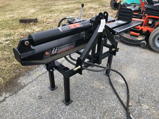 DR 22 Ton Horizontal/Vertical 3PH Log Splitter