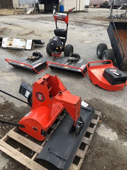 DR Field & Brush Mower w/ (5) Attachments