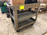 Poly Rolling Utility Cart