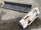 Push Plate & Fork-Attach Sweeper