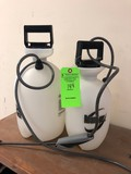 (2) Pump Sprayers