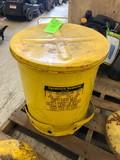 14 Gallon Oily Rag Waste Can