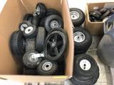 (50+/-) Asst. Lawn & Garden Wheels