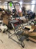 Steel Warehouse Ladder