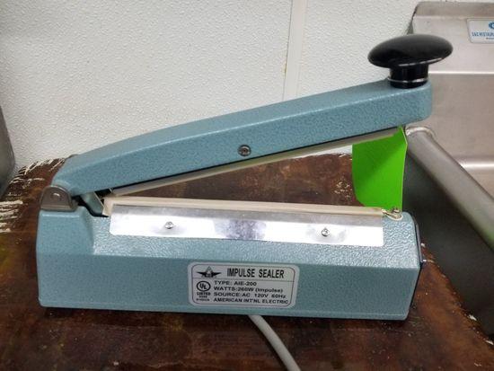 A.I.E. Impulse Sealer