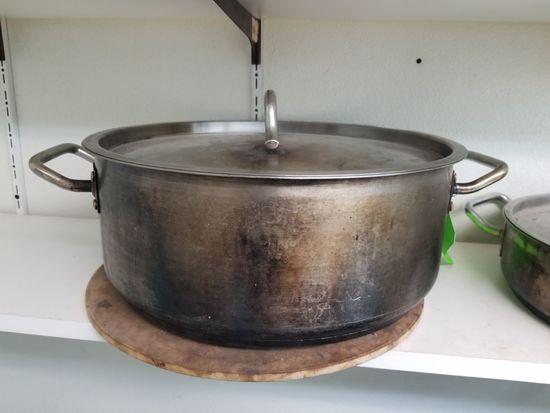 """15"""" SS Braising Pan"""