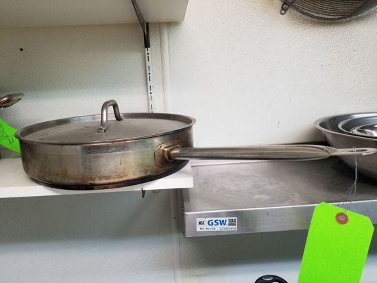 """14"""" SS Braising Pan"""