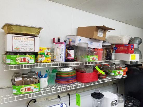Asst. Trays, Baking Supplies, & Other