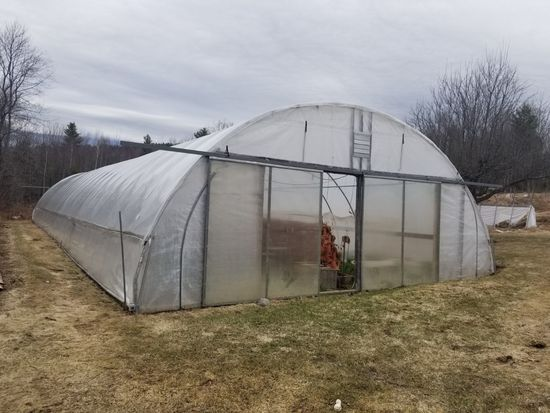 100' x 30' Steel Frame Greenhouse