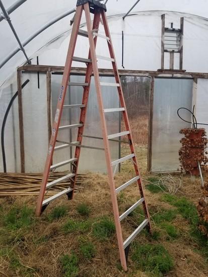 Werner 10' Fiberglass Step Ladder