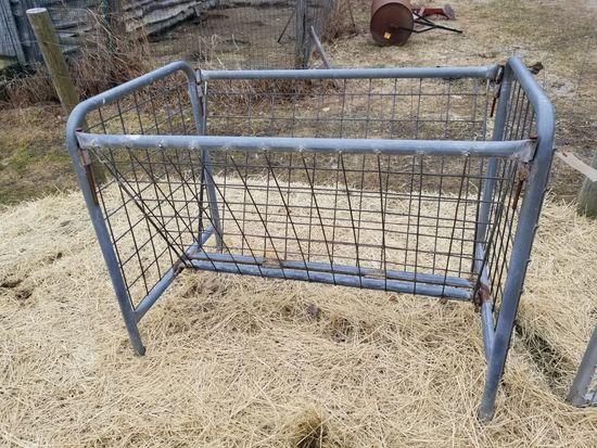 4' Steel Hay Feeder