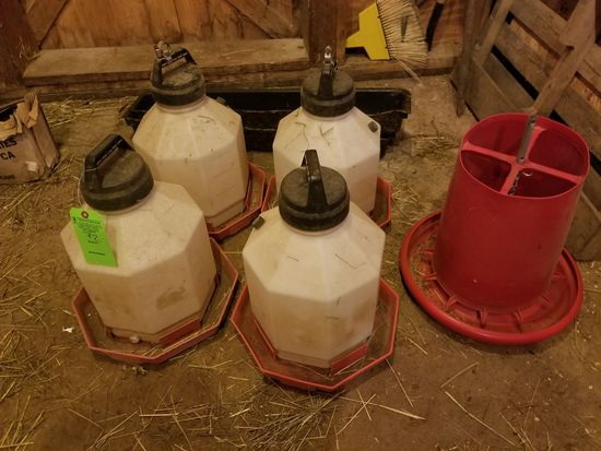 Asst. Chicken Feeders & Buckets