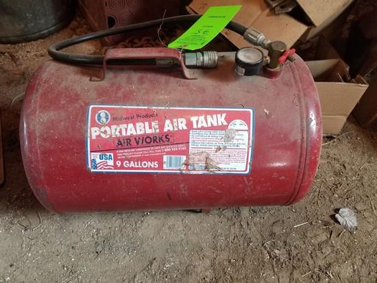 9 gal. Portable Air Tank