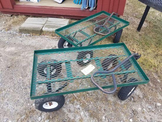 (2) Garden Wagons