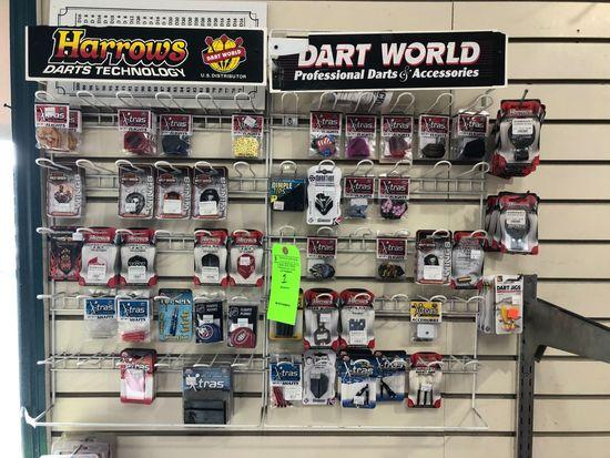 Asst.. Dart Accessories w/ Display