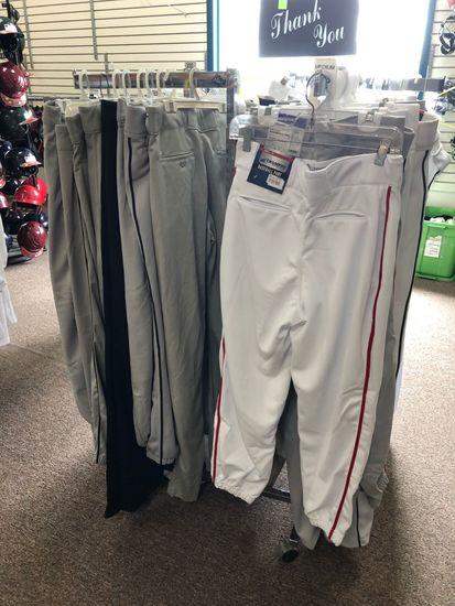 (40+/-) Asst.. Youth & Adult Baseball Pants