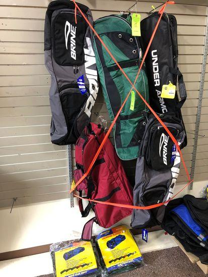 (7) Asst.. Lacrosse Bags