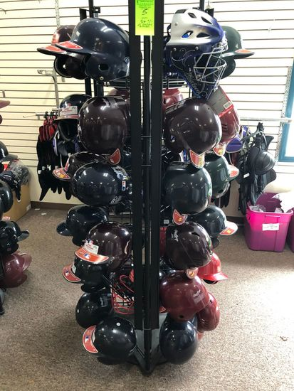 (36+/-) Baseball Catcher Chest Protectors w/ Display