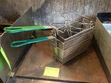 (3) Fryer Baskets